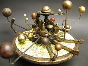 Orrey Steampunk Assemblage by urbandon